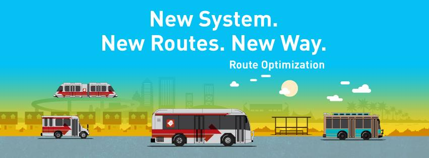 shuttle route new way