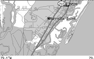 murrells inlet map shuttle