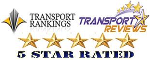 5 star rated transportation shuttle